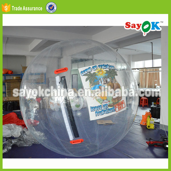 Bubble sticky inflatable floating water running water fountain glass ball