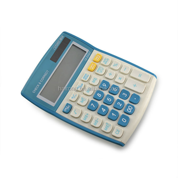 Hairong 2015 mini desktop solar calculator wholesale pocket calculator