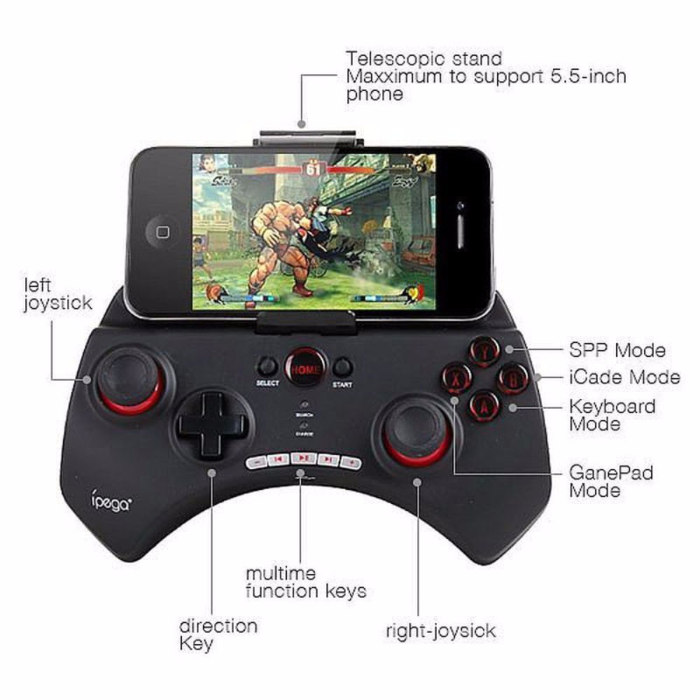 iPega 9025 PG-9025 Wireless Bluetooth Game controller Gamepad Joystick For iPhone& iPad Android PC