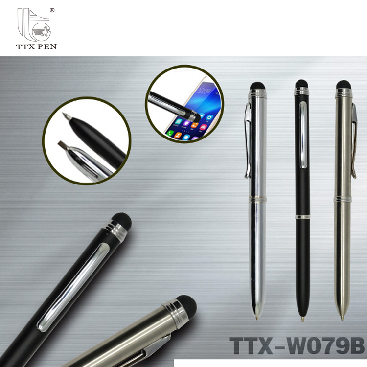 new design phone stylus touch inkless metal pen