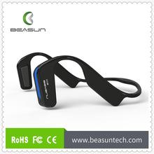 Bluetooth Headset, Portable Wirless Ear Bone Conduction Bluetooth 4.1 Stereo Headphone Hearing Aid Bluetooth Phone Music Sports