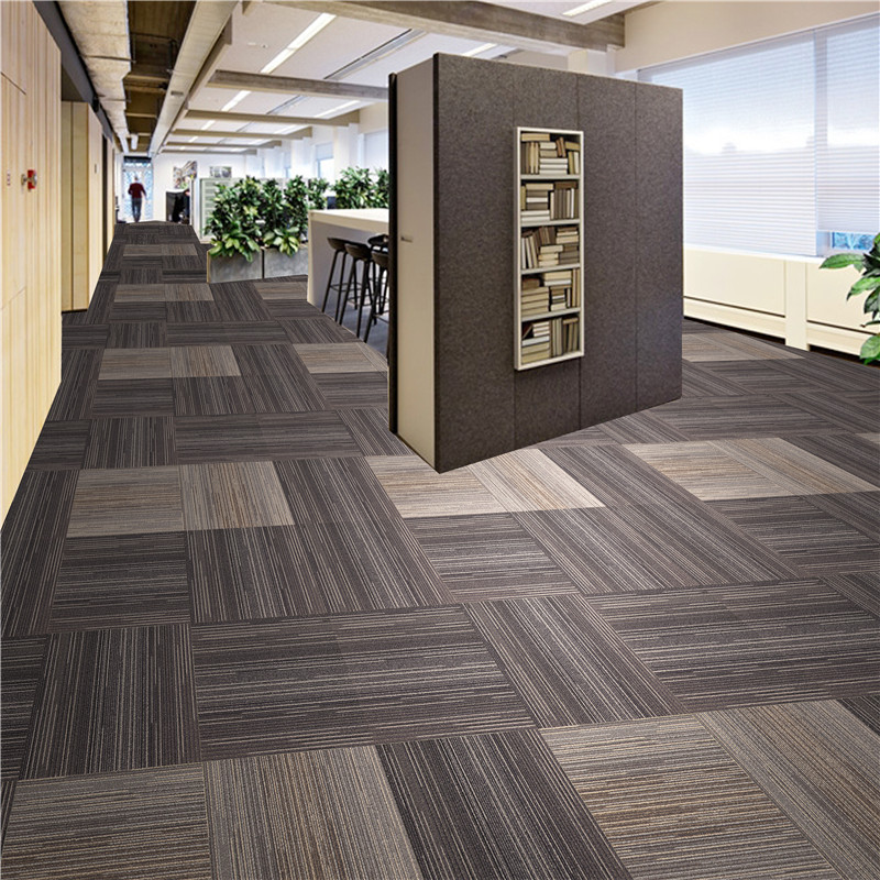 Removable and Durable 100% PP Multi-level Loop Pile Carpet Tiles