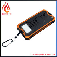 Strong led flashlight 100% brand new 19v solar laptop charger with mobile phone charger