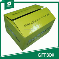 LITHO PRINTING CORRUGATED GIFT BOX FOR PACKAING SCHOOL SUPPLIES