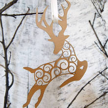 Reindeer small animals wood craft