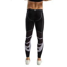 Custom Elastic Black reflective workout sublimation mens leggings