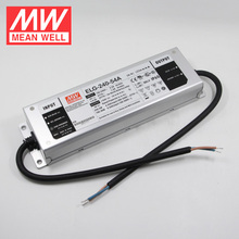 240W 48V LED Driver 5A ELG-240-48B Meanwell 0-10V Dimming LED Transformer