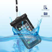 5.5inc PVC waterproof phone case for asus zenfone 2