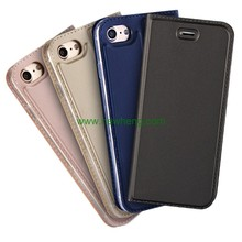 Book style Magnetic PU Leather Flip Cover Protective Case for iPhone 7