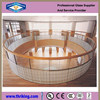 High quality tempered curved glass price