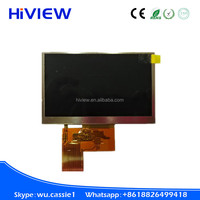 Industrial 4.3 inch tft lcd module ,(480x272) 4.3inch touch screen TFT LCD module display