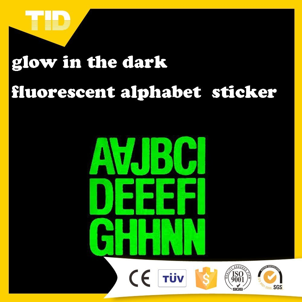 glow in the dark reflective letter stickers buy With glow in the dark letters stickers
