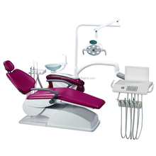 dental unit chair 3 Fold Type Intelligent touched contlled system ISO&EC Hard Leather