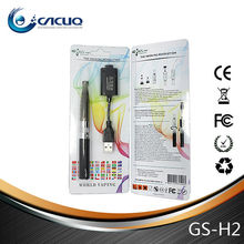Newest design and coloful atomizer GS H2 atomizer ego h2 kit