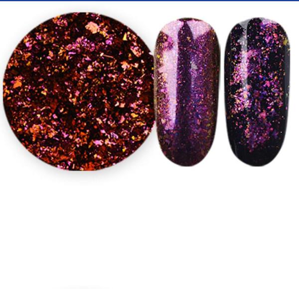Nail Art Products Nail Glitter Chrome Flake Chameleon Flakes For ...