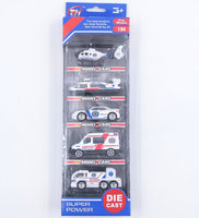 6 Car styles assorted 1:64 metal diecast model mini toy cars