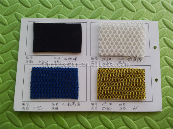 Polyester Tricot Mesh Fabric /illusion mesh fabric / China best seller supplier