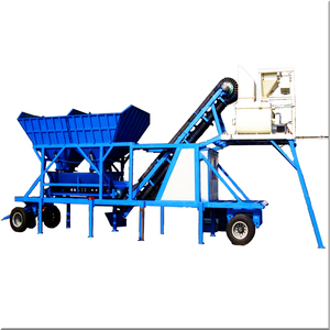 HZS25 Mobile Concrete Mixing Plant