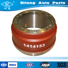Casting Iron Rear Heavy Auto Truck Parts Brake Drum