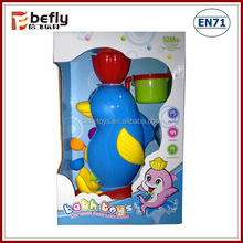 Plastic Dolphin bath toys for toddlers
