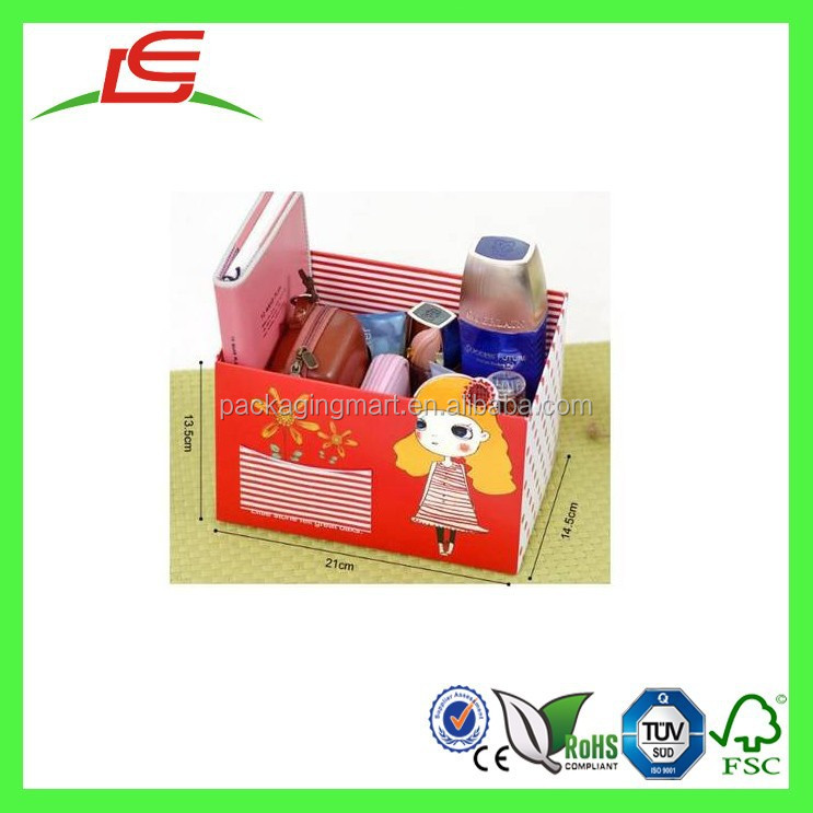 R0003 China Supplier Multi-purpose Cartoon Paper Pencil Box