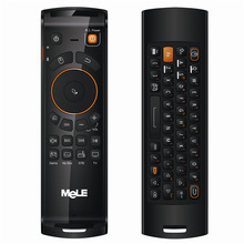 Original New MELE F10 Deluxe 2.4GHz Mini Fly Air Mouse 68 Key Wireless Keyboard Remote Control for PC/Notebook / TV BOX