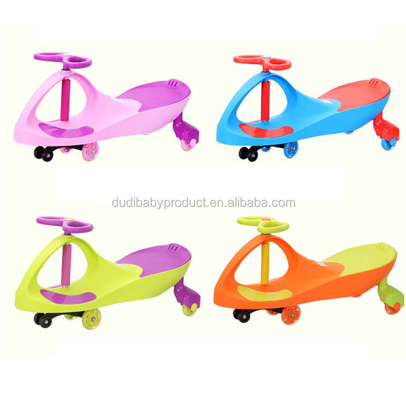 New Model Popular Design Children and adult Swing Car/Colourful Twist Car swing ride on car
