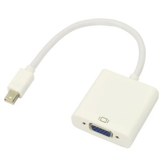 For Apple Ipad Mini DisplayPort DP to HDB 15 Pin VGA Cable Adapter Converter DVI to VGA Cable