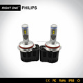 55w 5200lm 9004 9007 7 inch 4x6 led headlight china auto vaz