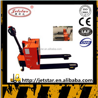 2.5T Warehouse semi electric Forklift Pallet Truck