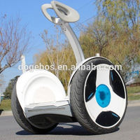 New innovation product motorized balance electric personal transport vehicle with rear brake light