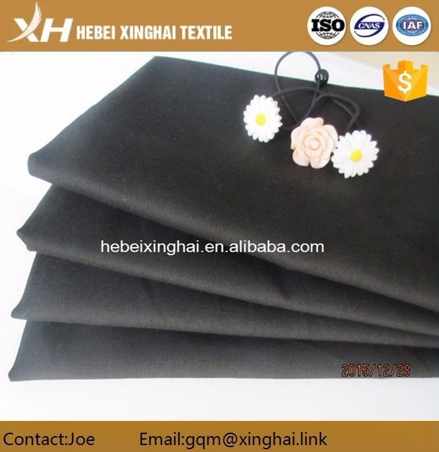 100 cotton twill weave uniform fabric in good color fastness and shrinkage