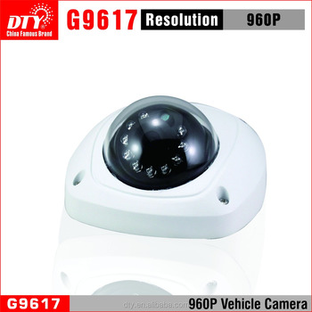 Best Selling 960P vandal-proof waterproof dome CCTV Camera For Car /Bus/Taxi/Truck, G9612