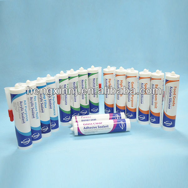 Plant Directly Supply Professional Silicone Based Msds Sealant