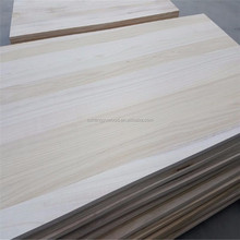 solid wood board type paulownia planks used for coffin board