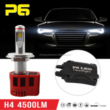 NEW Mini Size LED Headlight Super Power H4 55W/100W Strong Driver P6 LED Headlight