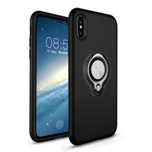 Mobile Phone Accessories New Fit Kickstand Case for iPhone X, for iPhone X Case Hybrid, for iPhone X TPU PC Case