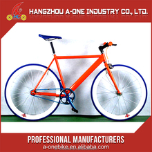 Hangzhou Cheapest Hi-Ten Steel Glow In The Dark City Fixed Gear Bike Bicycle