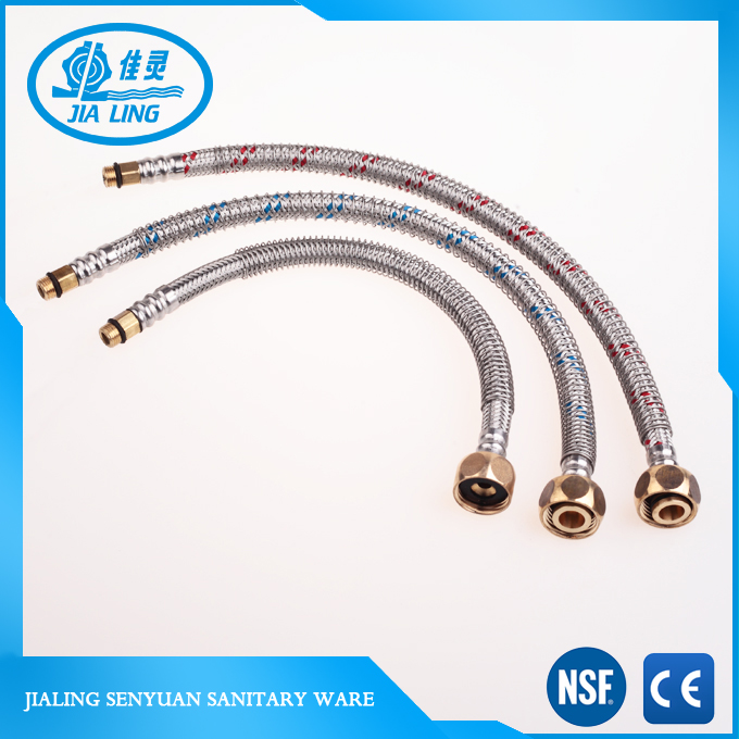 no deformation hot water flexible hose,hot selling flexible pipe for toilet hose pipe sanitary