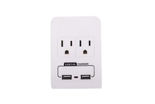 wall mount socket plug outlet surge protector with UL certification