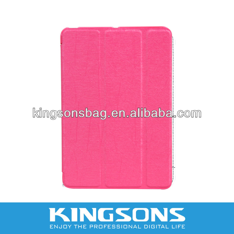 Fashion & Nice PU cover for mini ipad