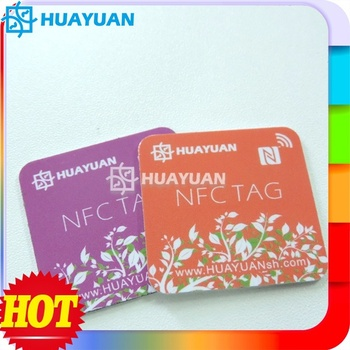 Porgrammable URL NTAG213 printable NFC tag for loyalty management