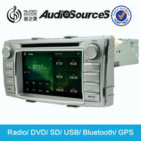Auto car gps radio for Toyota Hilux car dvd player with bluetooth steering wheel control SD map USB port