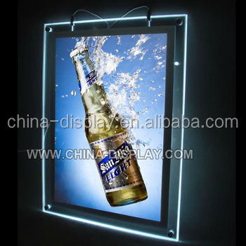 Top Selling Products 2016 A1 size advertising / LED box sign a1 size magnetic light led acrylic panel