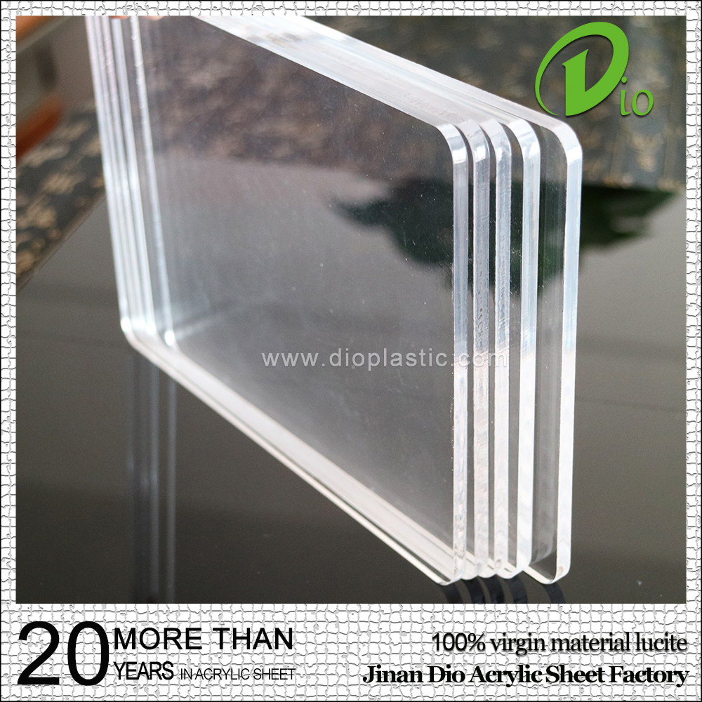 factory price flexible plexiglass 3mm cast clear acrylic sheet