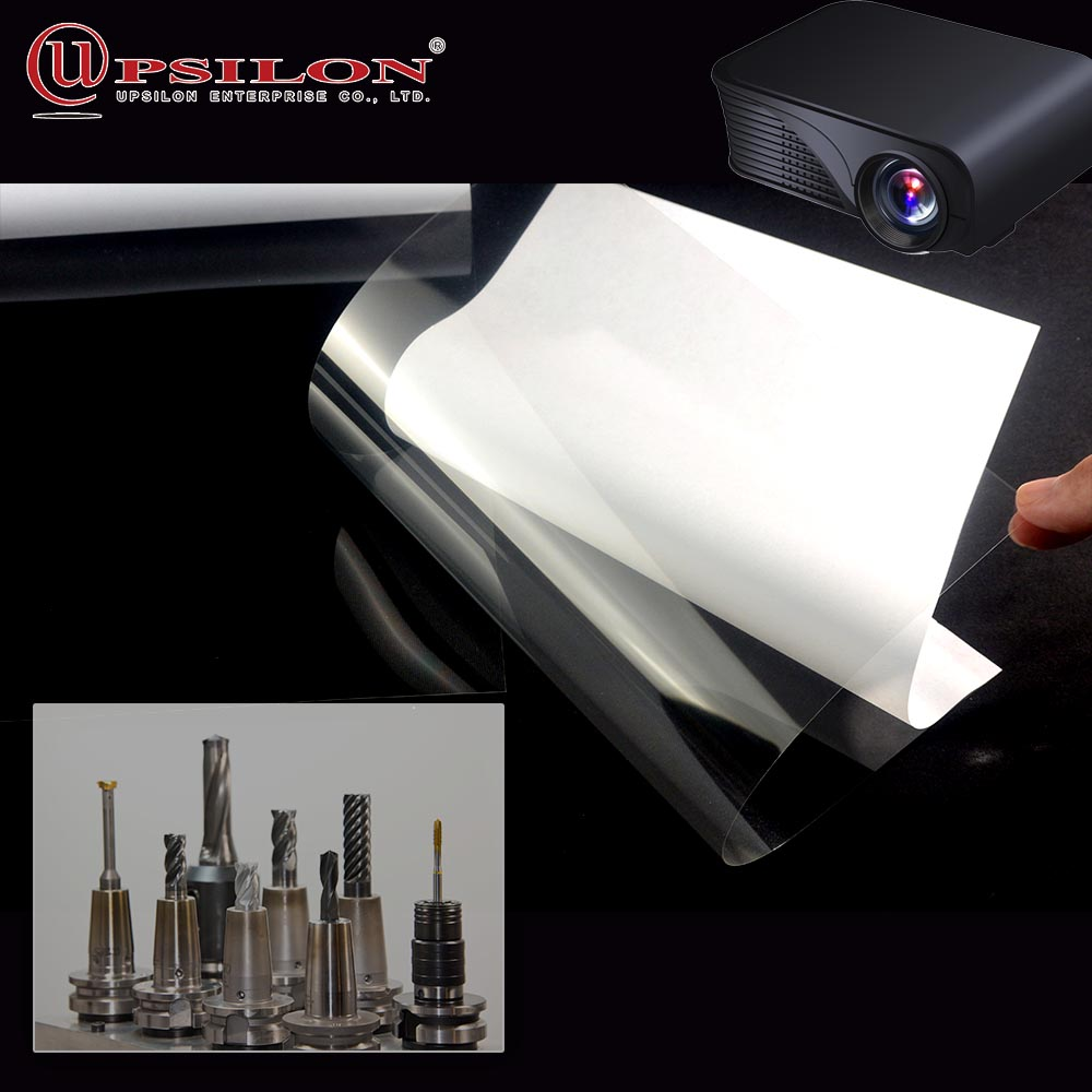 PET Material Glossy Surface Inkjet Transparency Plastic Film