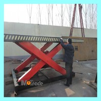 goods lifting hydraulic scissor lift