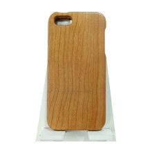 Luxury Natural Real Cherrywood Phone Case Smartphone Wooden Cover Case For iPhone 5