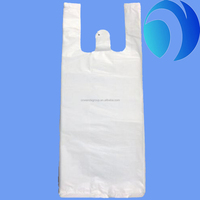 Custom Transparent Plastic Vest Bag