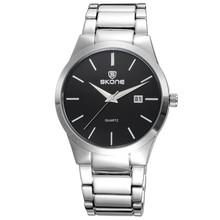 Skone Stainless Steel quartz watch made in china